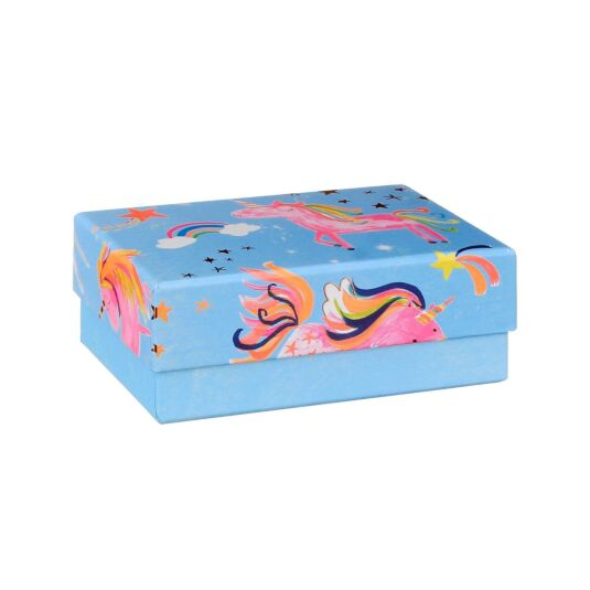 Rectangular Small Unicorn Gift Box