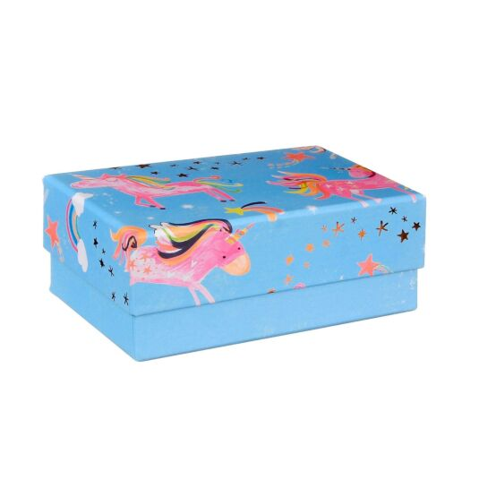 Rectangular Medium Unicorn Gift Box