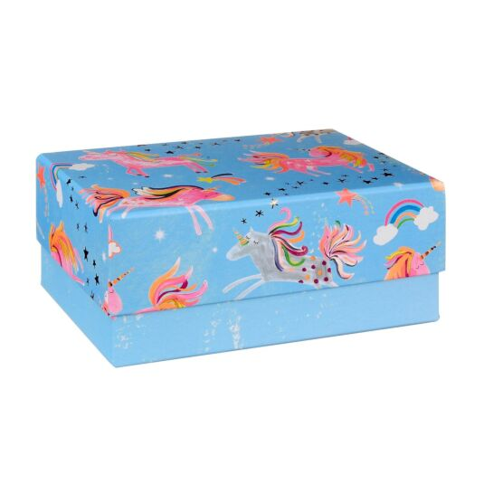 Rectangular Large Unicorn Gift Box