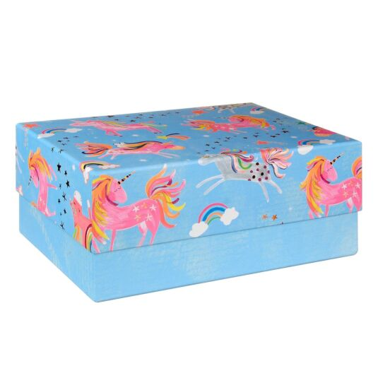 Rectangular XL Unicorn Gift Box