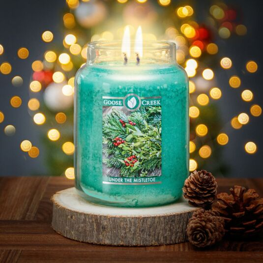 Under The Mistletoe Large Jar Candle