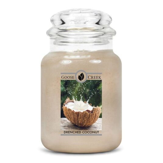 Drenched Coconut Large Jar Candle