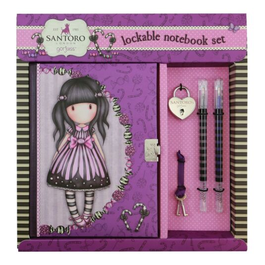 Sugar and Spice Lockable Notebook Set