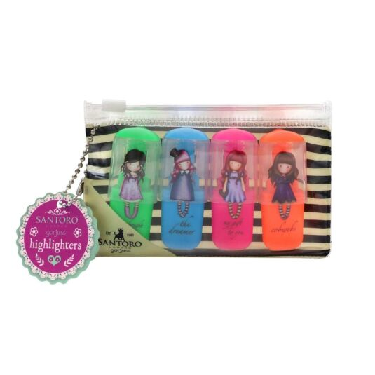 Fiesta Set of 4 Highlighters