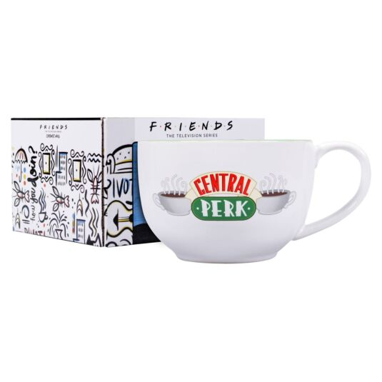 Central Perk Large Boxed Ceramic Mug