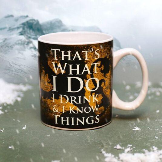 Tyrion Lannister Heat Changing Mug