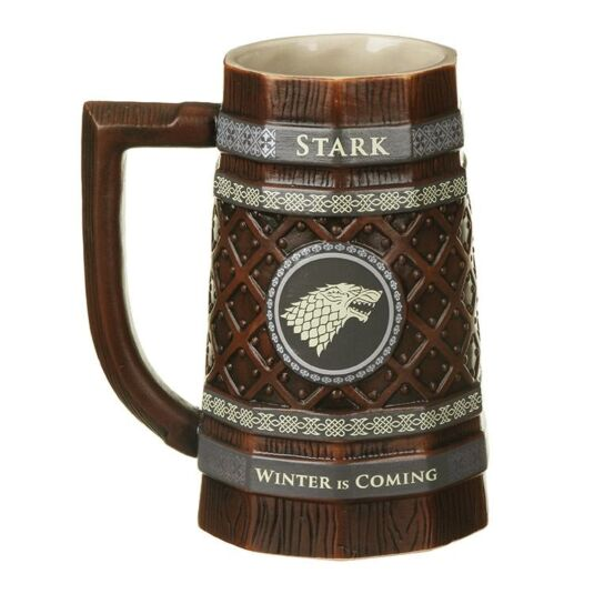 Game Of Thrones House Stark Collectable Stein Temptation Gifts