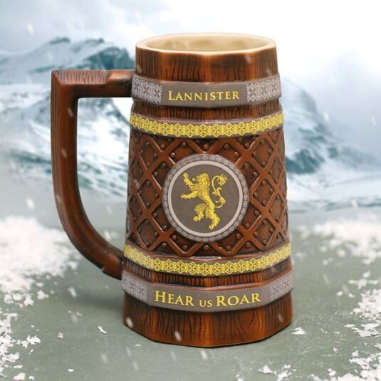 Game Of Thrones House Lannister Collectable Stein Temptation Gifts