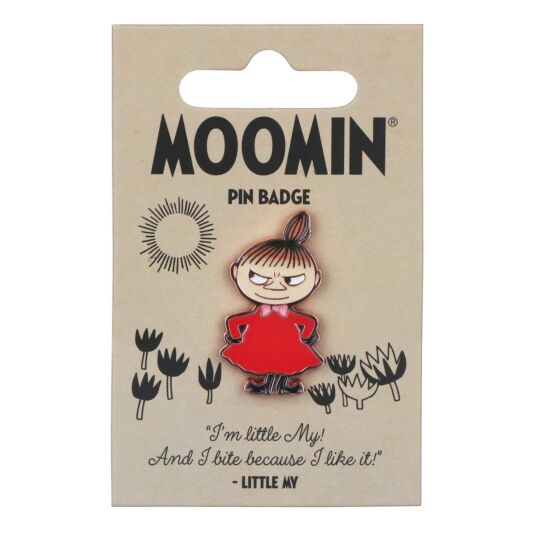 'Little My' Enamel Pin Badge