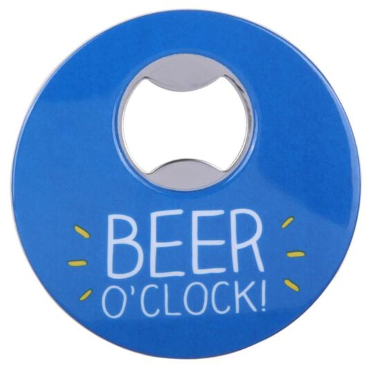 Blue Magnetic Bottle Opener