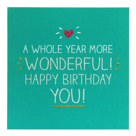 Whole Year More Wonderful! Card