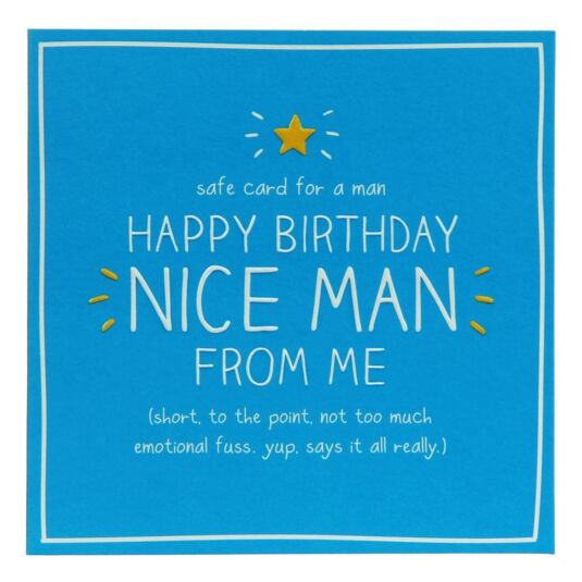 Happy Jackson Happy Birthday Nice Man Card