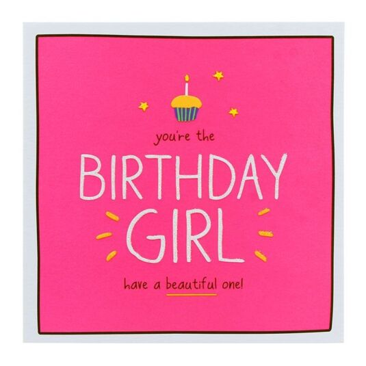 Happy Jackson Birthday Girl Birthday Card Temptation Gifts