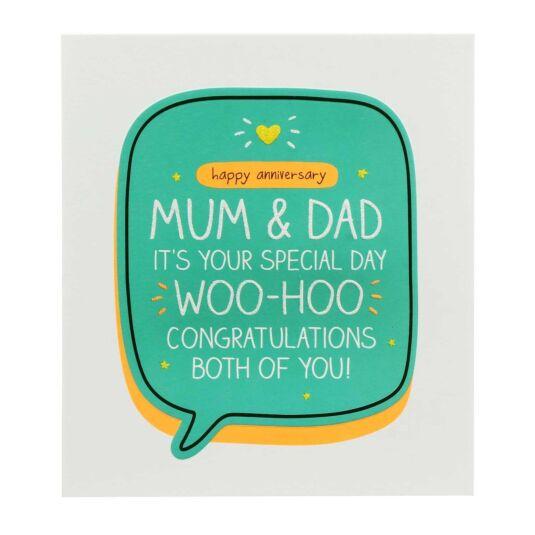 Mum & Dad Anniversary Woo-Hoo Card