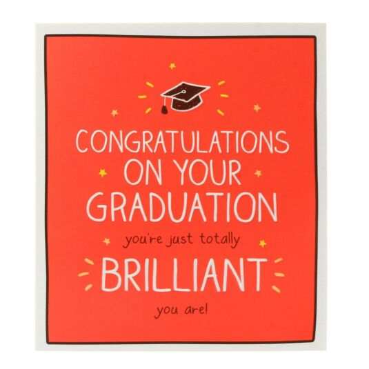 'Congratulations on Your Graduation' Card
