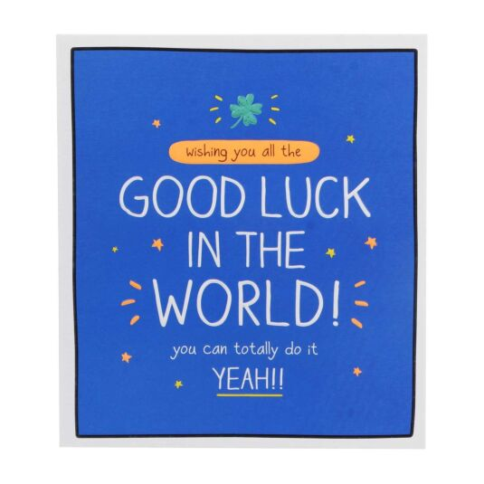 Good Luck In The World! Card