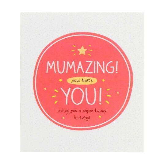 MUMAZING yup, that's YOU! Card