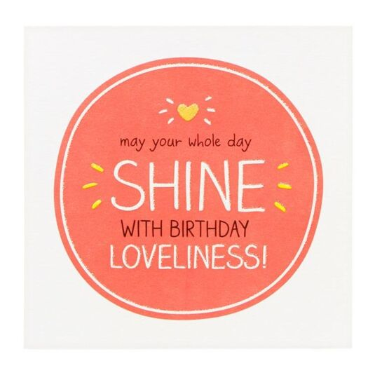 'Birthday Loveliness' Birthday Card