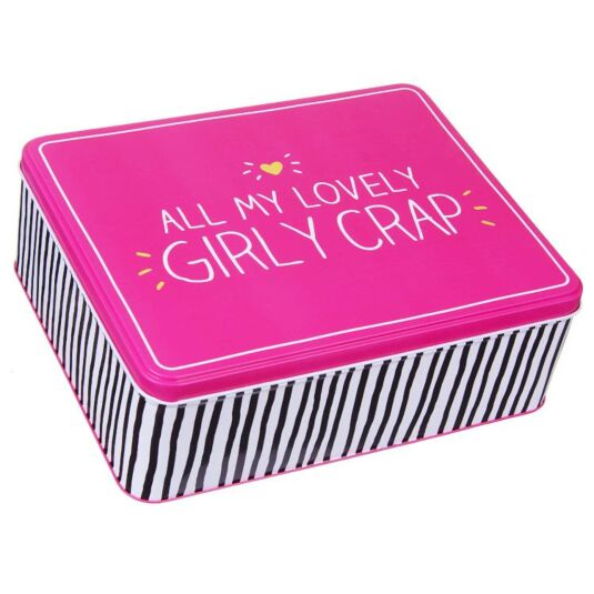 Girly Crap Tin