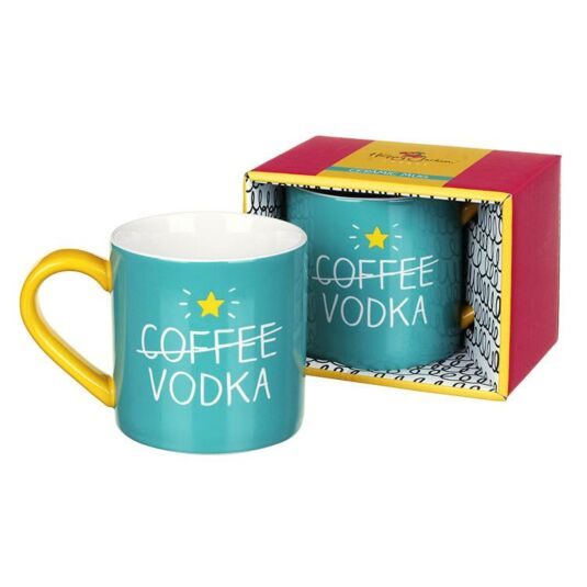 (Coffee) Vodka Boxed Mug