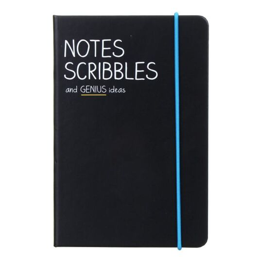 Notes Scribbles A6 Notebook