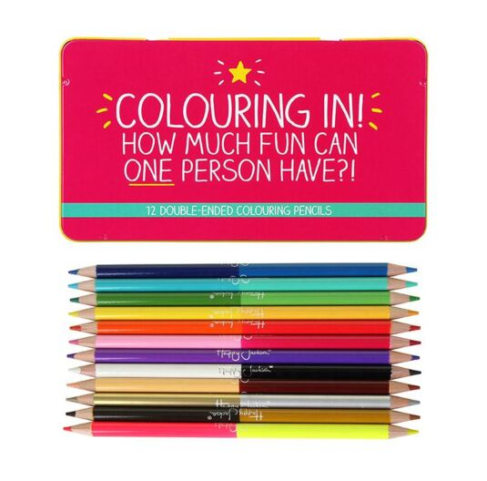 Double-Ended Colouring Pencils