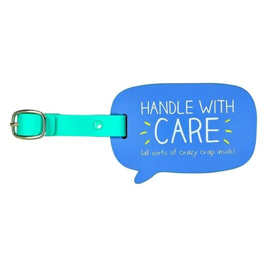 Handle with Care Luggage Tag