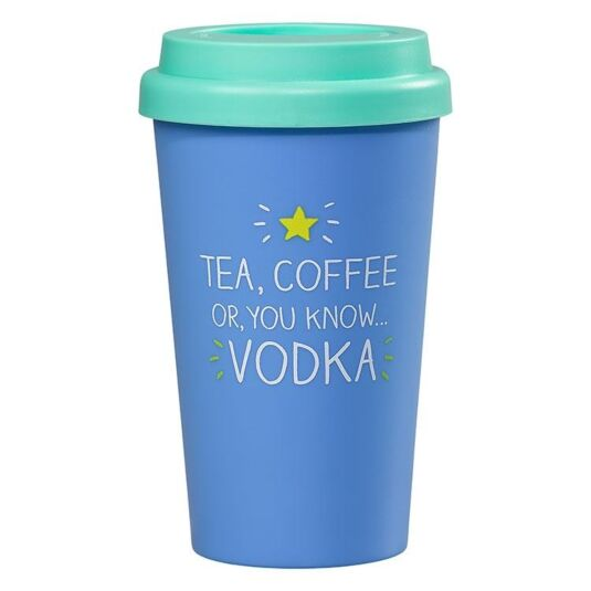 Tea, Coffee, VODKA Travel Mug