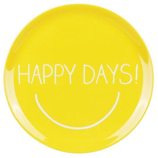 Happy Days Large Melamine Platter
