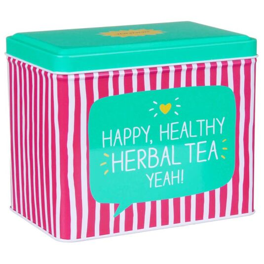 Herbal Tea Rectangular Caddy