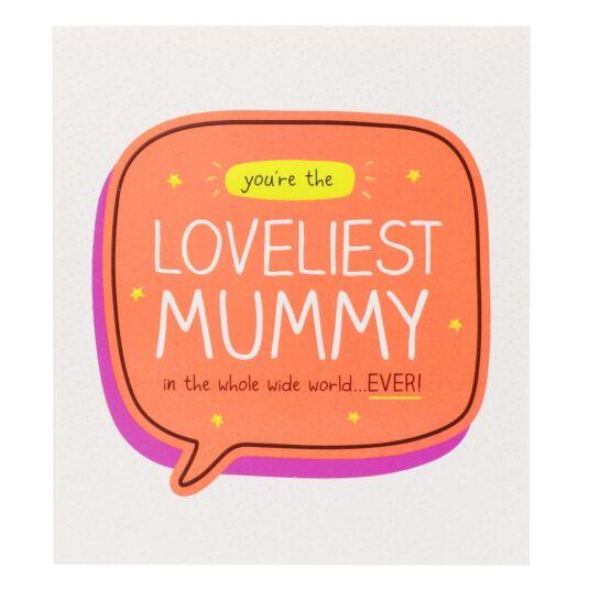 'Loveliest Mummy' Card