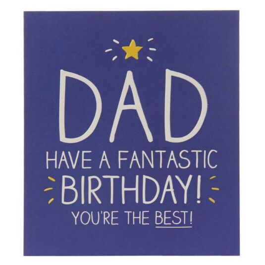 Happy Jackson Dad You Are The Best Birthday Card Temptation Gifts