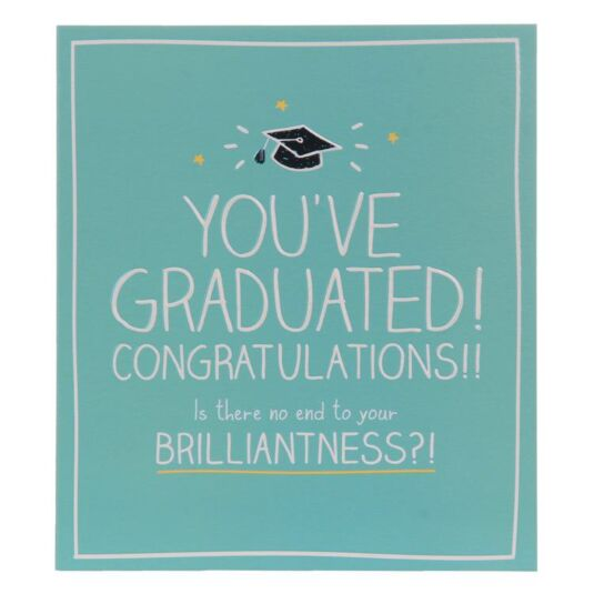 You've Graduated! Congratulations Card