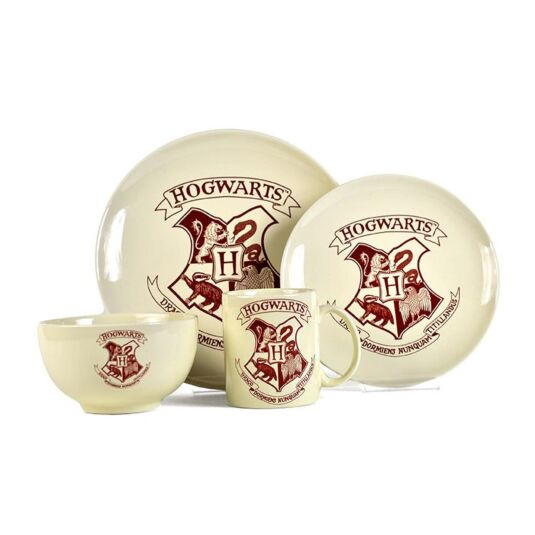 Hogwarts 4 Piece Dinner Set