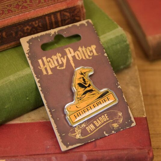Hufflepuff Sorting Hat Enamel Pin Badge