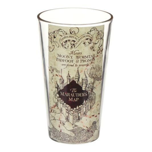Marauder's Map Glass