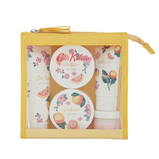 Grapefruit and Ginger Travel Set