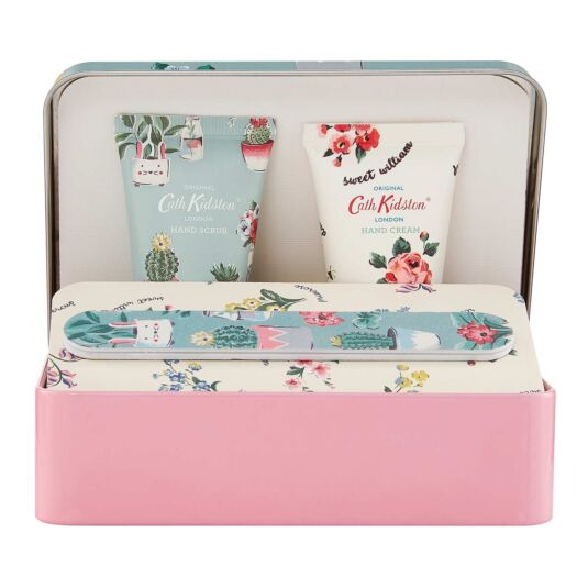 Plant Pots Hand Care Set in Tin