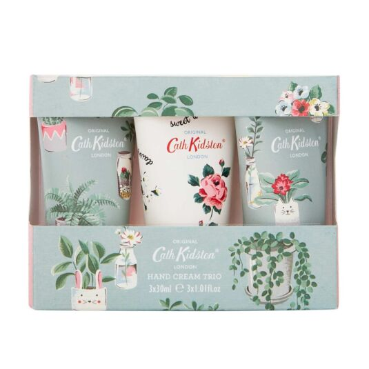 Plant Pots Set of 3 Hand Creams