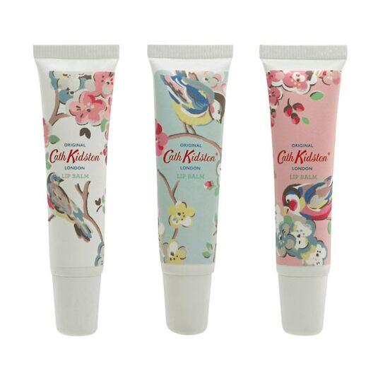 Blossom Birds Lip Balm Trio