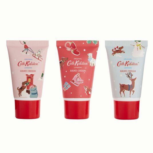 Christmas Village Set of 3 Hand Creams