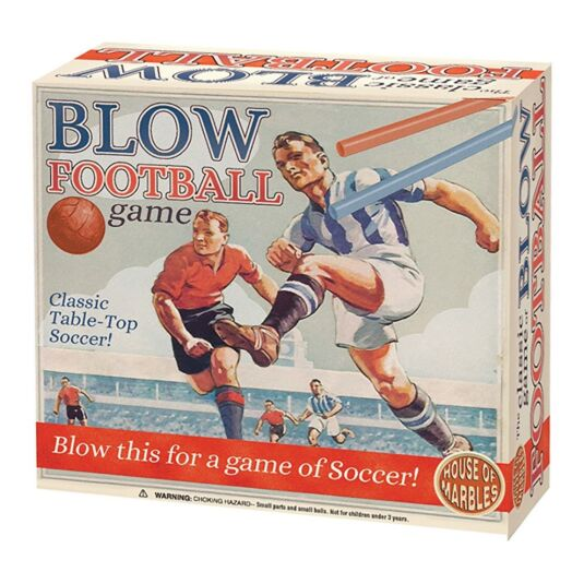 Blow Football Tabletop Game
