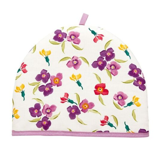 Wallflower/Polka Dot Tea Cosy