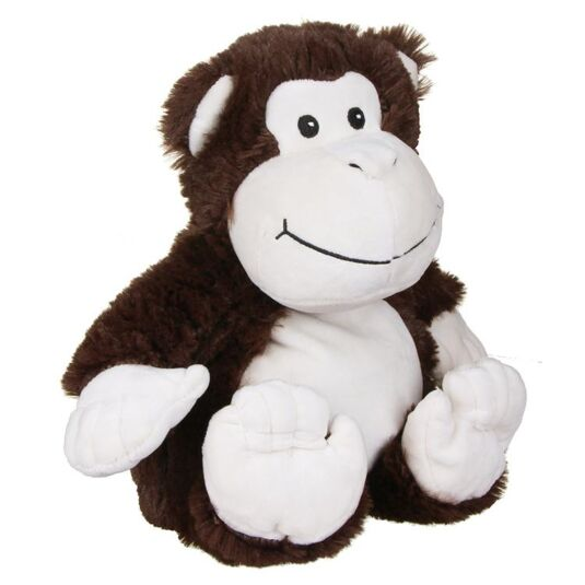 Warmies Monkey Heatable Soft Toy Temptation Gifts