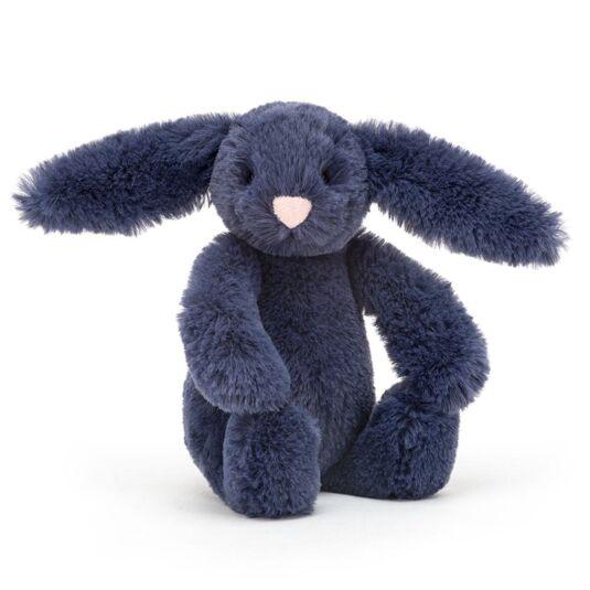 Baby Bashful Navy Bunny