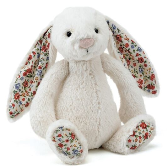 Small Cream Bashful Blossom Bunny