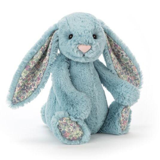 Medium Blossom Aqua Bunny