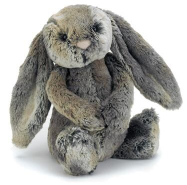 Medium Bashful Cottontail Bunny