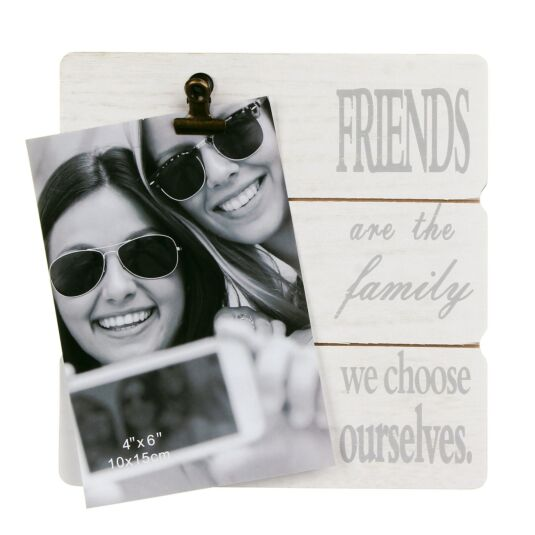 Friends Message Clip Frame