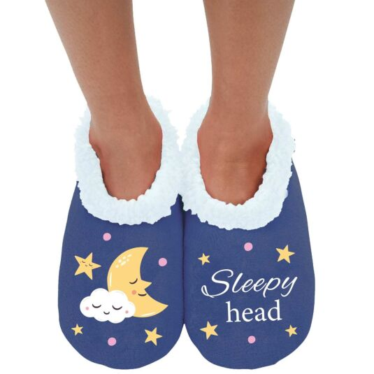 'Sleepy Head' Slippers